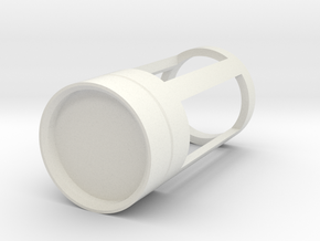 Blade Plug - Slate in White Natural Versatile Plastic