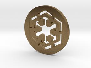 Sith Symbol in Natural Bronze