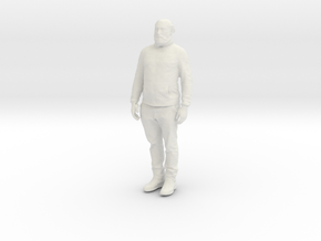 Printle C Homme 913 - 1/24 - wob in White Natural Versatile Plastic
