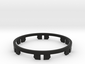 Clip Ring for LSS and LSS DT in Black Natural Versatile Plastic