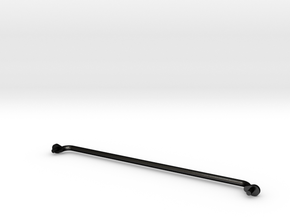 03 End Beam Hand Rail in Matte Black Steel