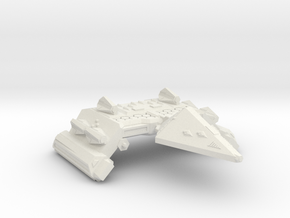 3788 Scale Neo-Tholian Space Control Ship SRZ in White Natural Versatile Plastic