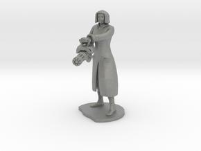 Female Mini gunner  in Gray PA12