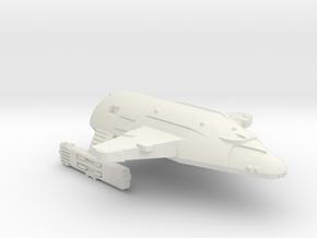 3125 Scale WYN Carcharodon Heavy Cruiser CVN in White Natural Versatile Plastic