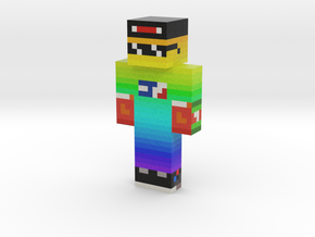 MLGaming_Ace   Minecraft toy in Natural Full Color Sandstone