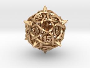 Thorn d20 V2 in Natural Bronze
