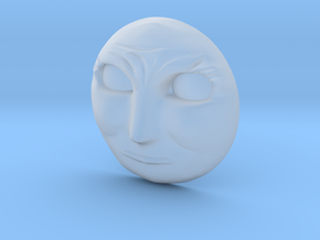 Alfred Face Cross in Smooth Fine Detail Plastic