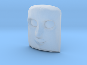 Lorry 1 Face in Smooth Fine Detail Plastic