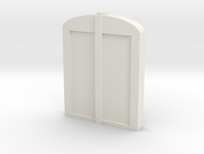 Lorry Radiator in White Natural Versatile Plastic