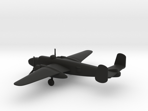 North American B-25J Mitchell in Black Natural Versatile Plastic: 1:200