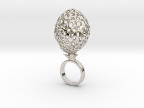 Crotmo - Bjou Designs in Rhodium Plated Brass