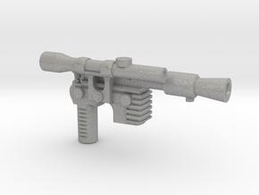 Solo Blaster, 5mm in Aluminum: Small