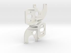 Axial SCX24 Deadbolt 130 motor Transmission V1 x2 in White Natural Versatile Plastic