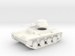 28mm 1/56 T-60 light tank  in White Processed Versatile Plastic