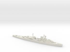 HMS Effingham 1/1250 in White Natural Versatile Plastic