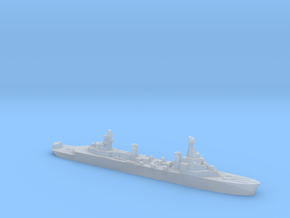French Pluton minelaying cruiser WW2 1:2400 in Smoothest Fine Detail Plastic