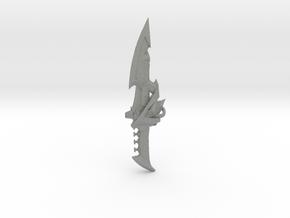 Psycho Dragon Dagger  in Gray PA12