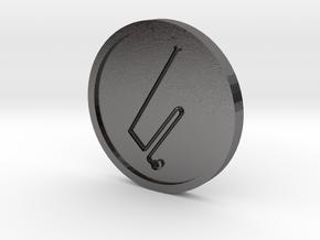 Bartzabel Spirit of Mars Coin in Polished Nickel Steel
