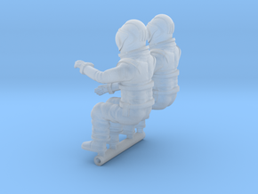 SPACE 2999 1/48 PILOT SET in Smooth Fine Detail Plastic