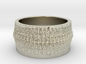 Rib Bone Ring in 14k White Gold: 7 / 54