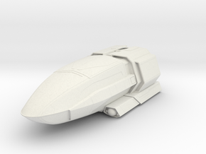 Discovery Shuttlecraft in White Natural Versatile Plastic