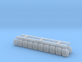 Heavy Bolter Box Mag V1 X20 in Smoothest Fine Detail Plastic