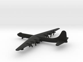 Convair B-36 Peacemaker in Black Natural Versatile Plastic: 1:700