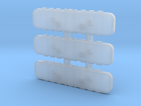 1/160 Light Bars for the generic chassis in Smooth Fine Detail Plastic