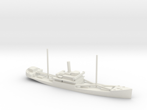 1/700 Scale 4000 ton Wood Cargo Ship Wishkah in White Natural Versatile Plastic