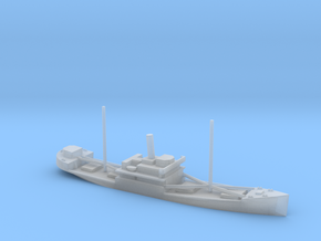 1/700 Scale 4000 ton Wood Cargo Ship Wishkah in Smooth Fine Detail Plastic