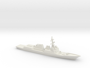 Sejong the Great-class destroyer, 1/1250 in White Natural Versatile Plastic
