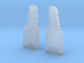 Chest for Zeta Toys Downthrust  in Smooth Fine Detail Plastic