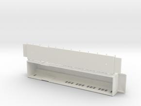 BFo1 model 00 - Swedish passenger wagon in White Natural Versatile Plastic