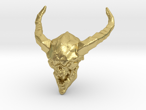Doom Lostsoul 1/60 miniature for games and rpg in Natural Brass