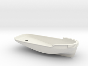 1/24 YTB Tugboat Hull in White Natural Versatile Plastic