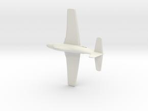 1:144 A2D-1 SkyShark (Douglas Aircraft Corporation in White Natural Versatile Plastic