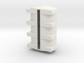 1/64 Scale 2350 Gallon Tank in White Natural Versatile Plastic