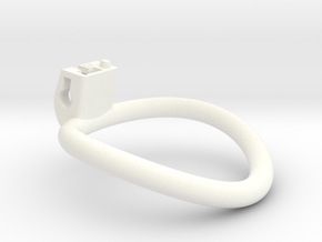 Cherry Keeper Ring - 57mm in White Processed Versatile Plastic