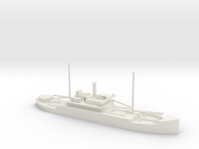 1/700 Scale 4005 ton Wood Cargo Ship SS North Bend in White Natural Versatile Plastic