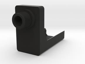 P30 AEP Frame Mounted Barrel Adapter (14mm-) in Black Natural Versatile Plastic