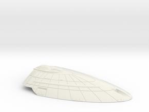 1/1000 USS Palomino Upper Saucer in White Natural Versatile Plastic