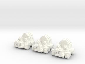 6mm - Pigmen Soft Top Transport x 3 in White Processed Versatile Plastic