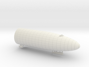 1/500 R class Zeppelin L32 (LZ74) Front in White Natural Versatile Plastic