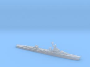 French cruiser Émile Bertin c1943 WW2 1:3000 in Smoothest Fine Detail Plastic