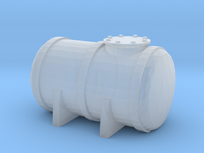 Petrol Tank 1/220 in Smooth Fine Detail Plastic