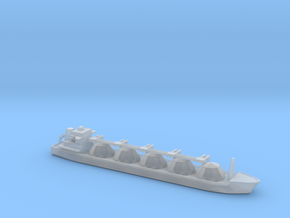 1/3000 Scale LNG Tanker in Smooth Fine Detail Plastic