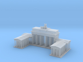 Brandeburg Gate 1/1250 in Smooth Fine Detail Plastic
