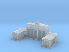 Brandeburg Gate 1/500 in Smooth Fine Detail Plastic
