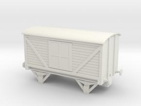 LNWR Van NEM Coupling in White Natural Versatile Plastic