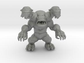 Galberos Ultraman Kaiju Monster Miniature in Gray PA12